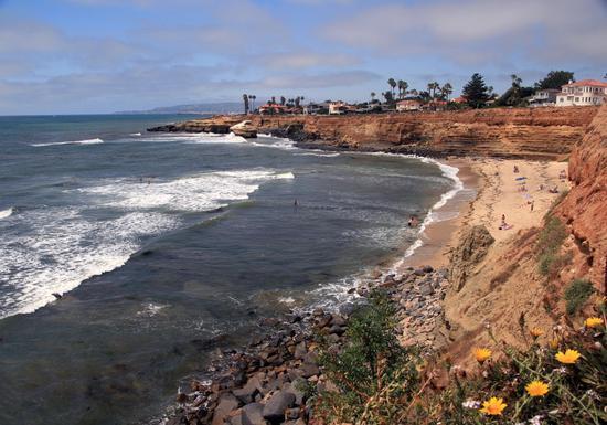 日落悬崖,图片版权:圣地亚哥旅游局