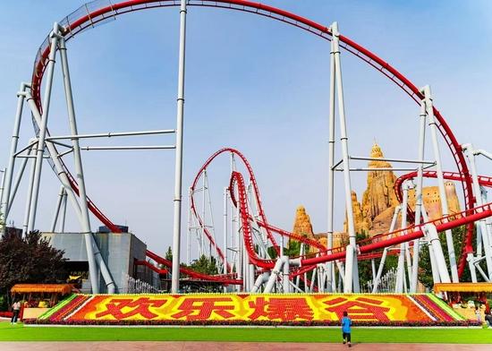 北京欢乐谷中秋小长假单日客流量与营收双创历史最高纪录