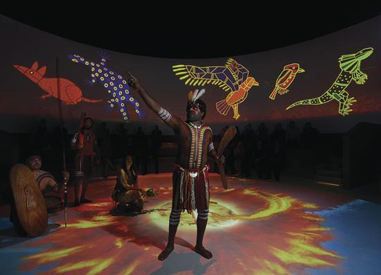 查普凯土著文化表演