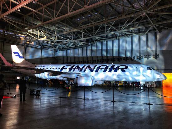 <a href='http://travel.sina.com.cn/fenlan-lvyou/?from=b-keyword' target='_blank'>芬兰</a>航空客机