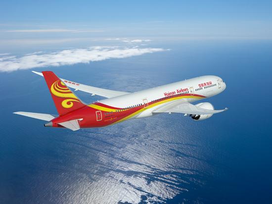 海南航空波音787梦想客机