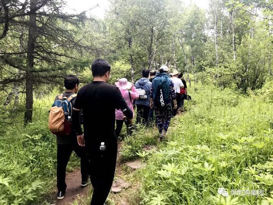 旅程进入第十三天,看多了草原,今天大家决定换换口味,去大森林里面探索发现