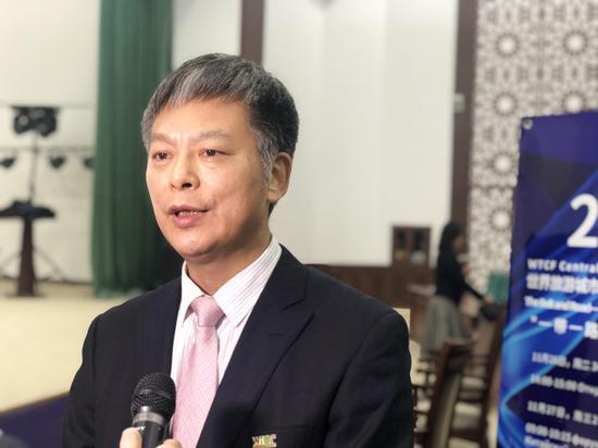 世界旅游城市联合会常务副秘书长李宝春 来源:国际在线 吴晓红