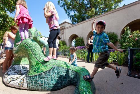 儿童免费月,图片版权:圣地亚哥旅游局