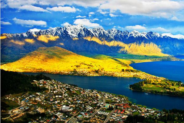 新西兰皇后镇,一个从不会令旅行者失望的地方