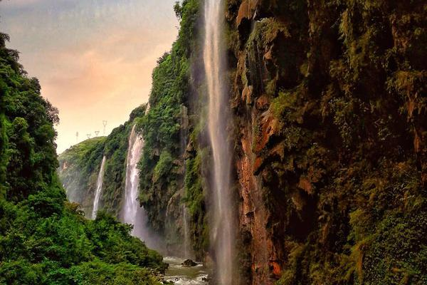 马岭河峡谷,地球上最美的伤痕