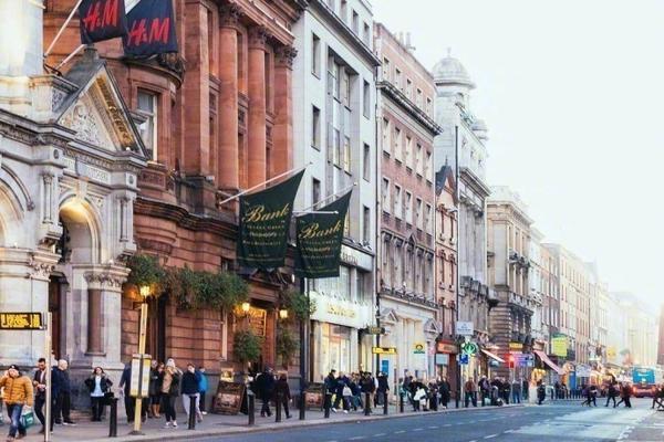 爱尔兰都柏林,一个超有魅力的城市
