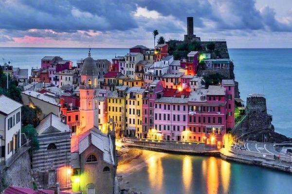 意大利五渔村,美丽的徒步胜地