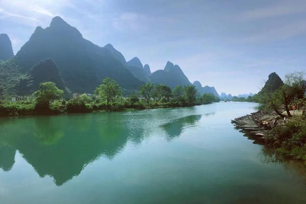桂林的四月天,太美好