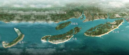 三大岛屿地理位置示意 图片来自新浪博主:王皓