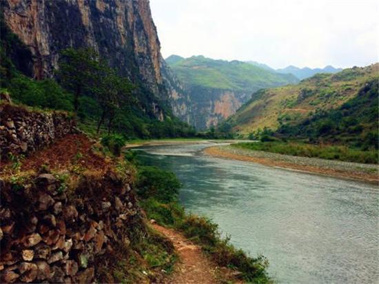 尼珠河大峡谷(图:渔小嘿)
