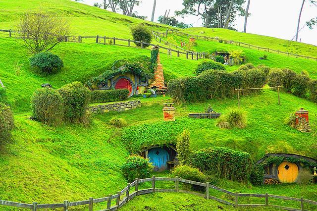 魅力新西兰 霍比屯的奇幻世界