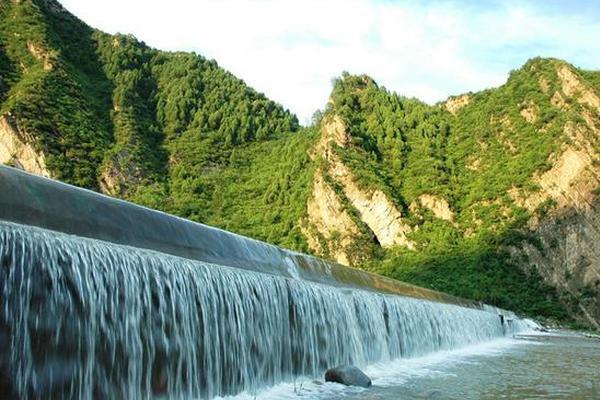 在天津八大森林公园里纳凉避暑