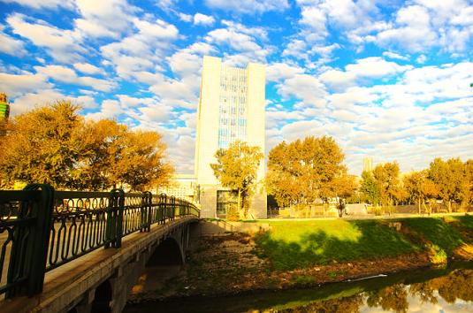 东北林业大学文博楼-总览黑龙江最美高校风光 你的母校中了没