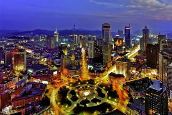 新浪旅游配图:中山广场 来源于网络