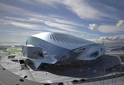 新浪旅游配图:大连国际会议中心大剧院(2) 摄影:图片来自网络