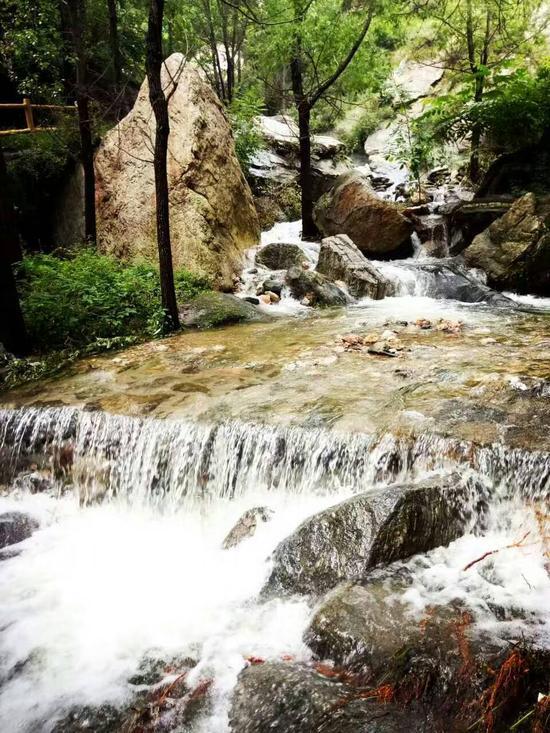 暴雨过后的水泉溪景区