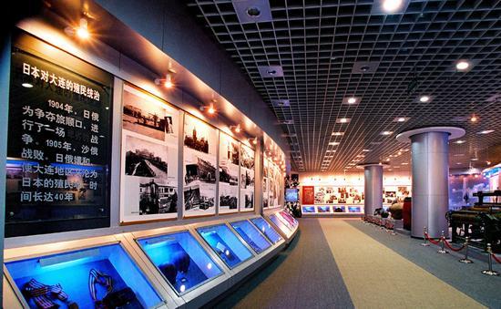 新浪旅游配图:大连现代博物馆展厅 摄影:图片来自网络