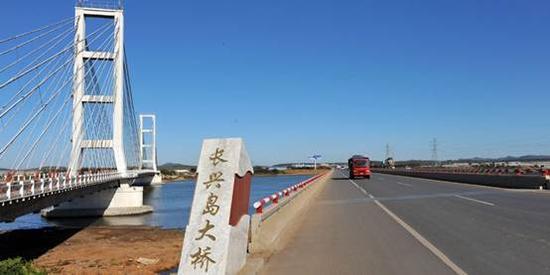 新浪旅游配图:长兴岛大桥 摄影:图片来自网络