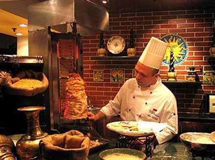 土耳其旋转烤肉(图片来源于网络)