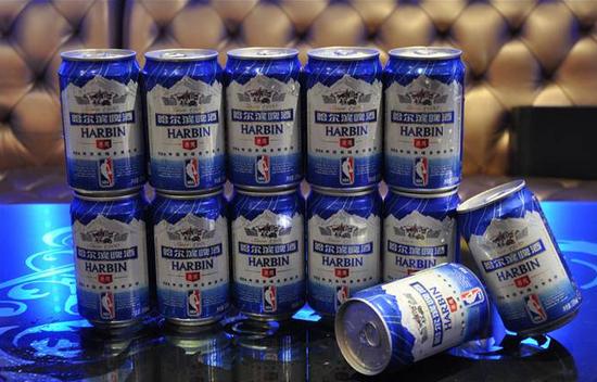 哈尔滨啤酒(图片来源于网络)