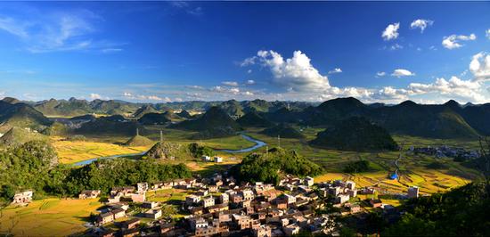 广南八宝风景区(来源:太平洋摄影 小表哥)
