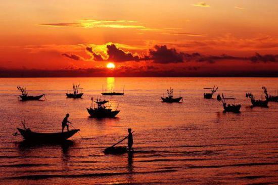 休渔期已过 带你到广西找肥美海鲜