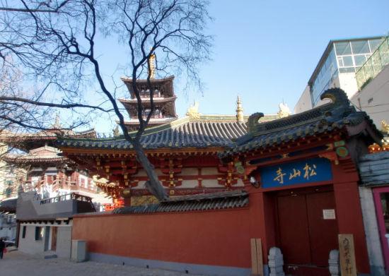 新浪旅游配图:松山寺 摄影:图片来自新浪旅游攻略