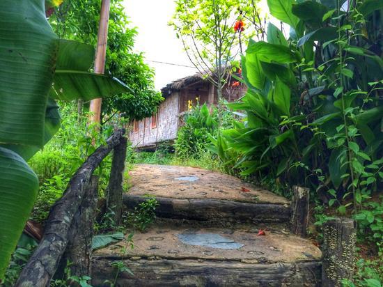 拉祜族木屋