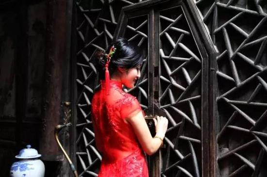 徽姑娘(拍摄于西递景区)