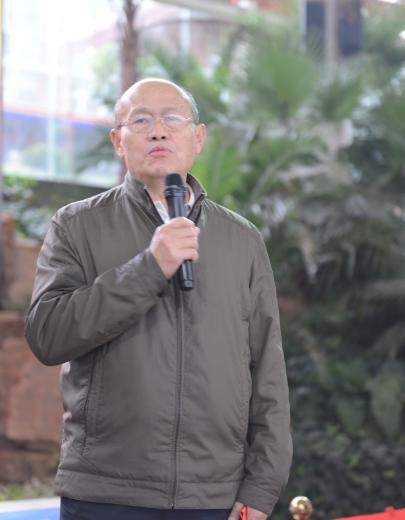云南省老年人体育协会副主席兼秘书长张仁伟发表重要讲话