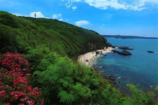 冬日涠洲岛仍旧碧海蓝天