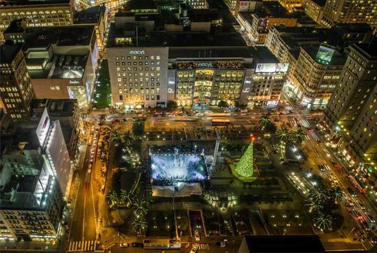 斑斓的灯光秀 图片来源:美国旧金山旅游协会