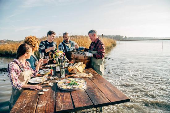 生蚝农场体验之旅 图片来源:美国首都地区旅游局