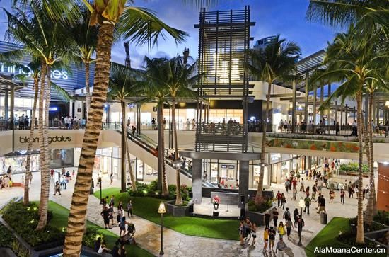 阿拉莫阿那中心 图片来源:夏威夷旅游局