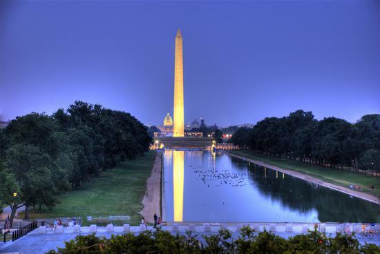 华盛顿纪念碑 图片来源:美国首都地区旅游局