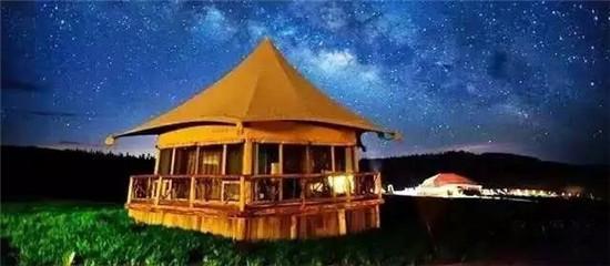 格拉丹草原的星空