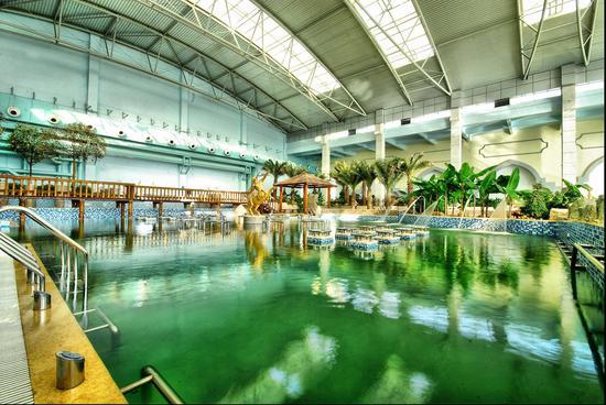 海泉湾是目前西北地区规模最大的室内亲水乐园