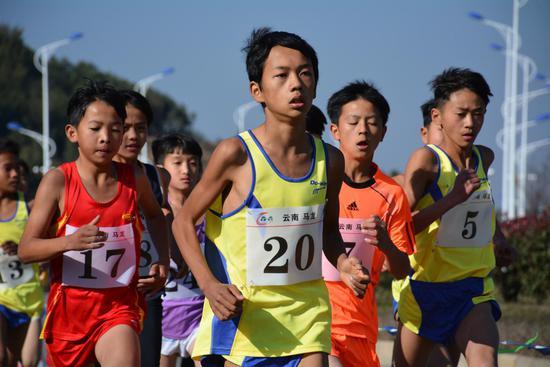 马龙县云南省第五届少年儿童田径中长跑 竞走兴趣拓展赛精彩瞬间回放