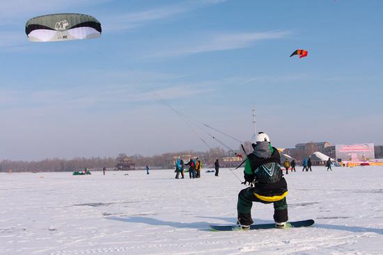 往届雪地风筝赛
