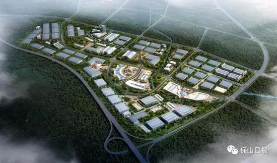 保山工贸园区昌宁园中园强势推进基础设施建