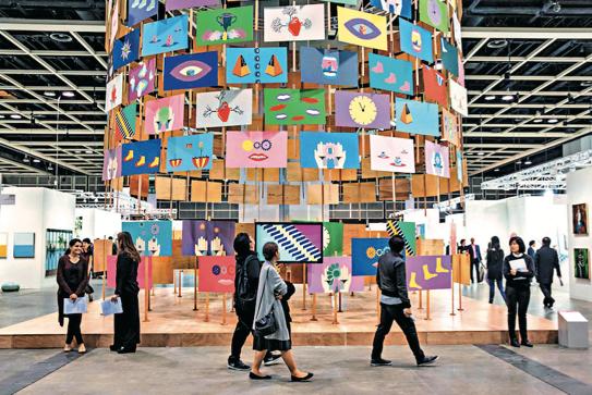 """全球艺术爱好者引颈期盼的""""巴塞尔艺术展"""",即将在港隆重开幕。图片来源:香港旅游发展局"""