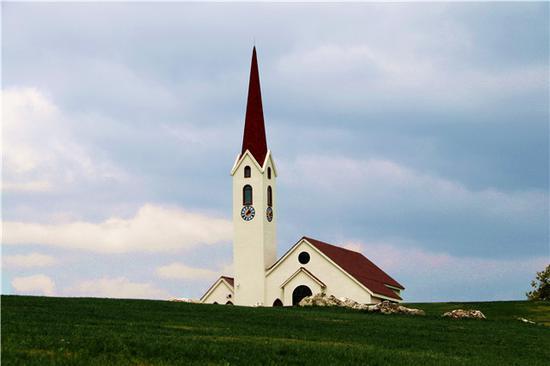 云漫湖教堂