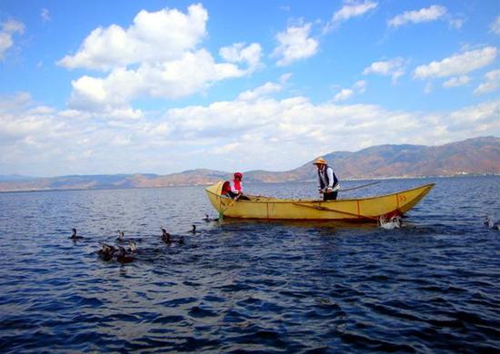 原汁原味的渔家生活
