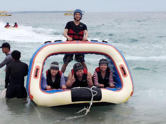 刺激好玩的海上运动