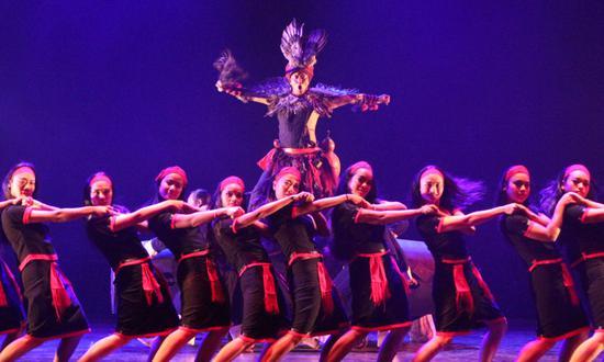 佤族原生态舞台剧《族印·司岗里》