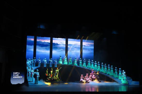《濯水谣》今晚在重庆大剧院成功上演