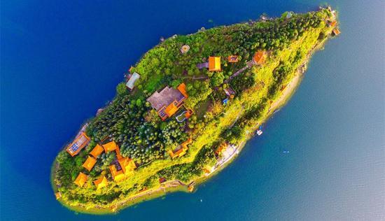 孤山岛(图片来源:玉溪旅发委)