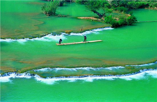 罗平多依河(摄影:赵汀)