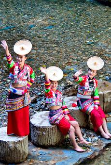 大沐浴花腰傣生态民族文化旅游村